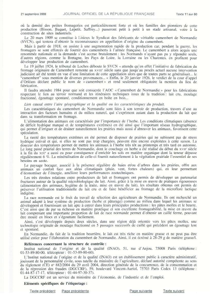 décret publié au journal officiel